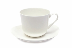 Šálek s podšálkem Cashmere Bone China, 480 ml