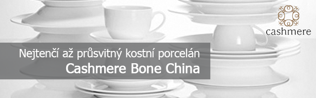 Cashmere Bone China - kostní porcelán od Maxwell and Williams
